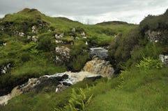 Waterfalls on River Rha Stock Image