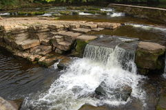 Waterfalls on the river Swale Royalty Free Stock Images