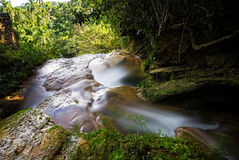 Waterfalls Salto de Soroa, Candelaria Stock Images