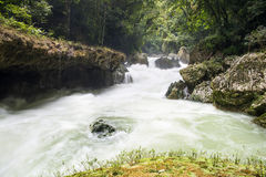 Waterfalls of Semuc-champey Stock Photo