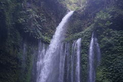 Waterfalls. Several large waterfalls in Lombok, Indonesia Stock Photography