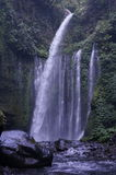Waterfalls. Several large waterfalls in Lombok, Indonesia Royalty Free Stock Photo