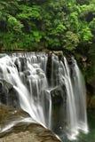 Waterfalls in shifen taiwan Stock Image