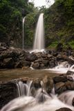 Waterfalls. Sibedug waterfall petungkriyono pekalongan central java indonesia Stock Image