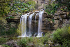 Waterfalls in Sicily Stock Photography