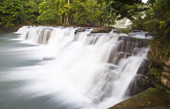 Waterfalls with silky water Royalty Free Stock Photo