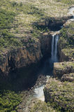 Waterfalls from the sky Royalty Free Stock Images