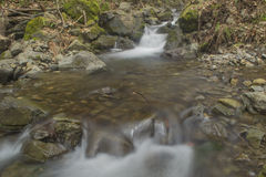 Waterfalls. Small waterfalls flowing river forms Royalty Free Stock Image
