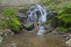 Waterfalls. Small waterfalls flowing river forms Stock Photography