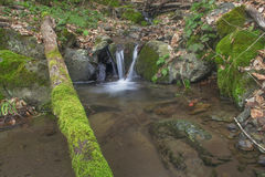 Waterfalls. Small waterfalls flowing river forms Royalty Free Stock Photography