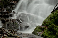 Waterfalls. Small waterfalls flowing river forms Royalty Free Stock Photo