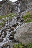 Waterfalls Sofia, Caucasus, Russia. Cascade glacier waterfalls Sofia. Caucasus, Russia, a Royalty Free Stock Photography