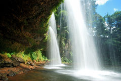 Waterfalls in south Laos. Stock Images