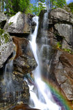 Waterfalls at stream Studeny potok in High Tatras Stock Images