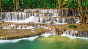 Waterfalls. Streams, natural Forests, beautiful, background Stock Photography