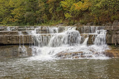 Waterfalls Of Taughannock Falls Royalty Free Stock Photography