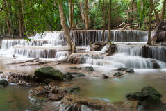 Waterfalls in Thailand Royalty Free Stock Images