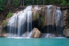 Waterfalls in Thailand Royalty Free Stock Photography