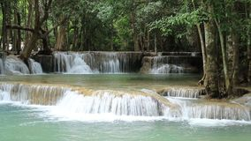 Waterfalls in Thailand stock footage