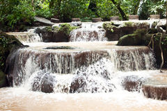 Waterfalls in Thanbok Khoranee national park, Thailand Stock Photos