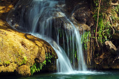 Waterfalls in Topes de Collantes, Cuba Stock Photos