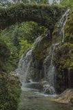 Waterfalls of Venus. Italy, Cilento, Casaletto Spartano. royalty free stock images
