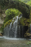 Waterfalls of Venus. Italy, Cilento, Casaletto Spartano. Royalty Free Stock Photo