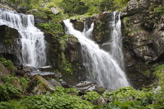 Waterfalls. A view of Dardagna falls in Emilia Romagna  (Italy Royalty Free Stock Image