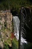 Waterfalls, viewpoint, Tumalo Falls, Stock Photo