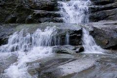 Waterfalls waterfall rocks Stock Image