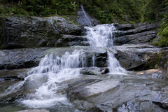 Waterfalls waterfall rocks Royalty Free Stock Image