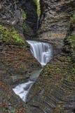 Waterfalls Of Watkins Glen State Park Stock Image