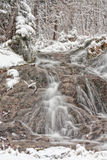 Waterfalls in Winter Stock Image