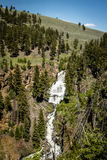Waterfalls, Yellowstone National Park Royalty Free Stock Image