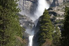Waterfalls, Yosemite National Park, California Stock Image