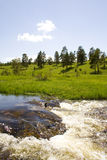 Waterfalls on Zlatibor Royalty Free Stock Photo