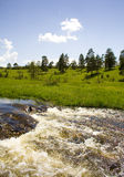 Waterfalls on Zlatibor. A river Katusnica on the most beautiful mountain in the middle europa - Zlatibor Stock Images