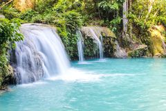 Waterfals in Siquijor Royalty Free Stock Photos