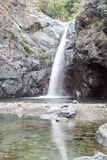 Waterfasll Goja Del Pis, Almese, nahe Turin Italien Stockfotografie