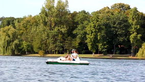 Waterfiets Royalty-vrije Stock Foto