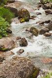 Waterflow. In Japan, Toyamaken, Kurobe Royalty Free Stock Images