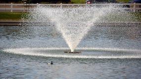 Waterfontein Royalty-vrije Stock Foto