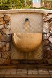 Waterfontein royalty-vrije stock afbeeldingen