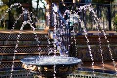 Waterfontein Royalty-vrije Stock Afbeelding