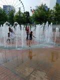 Waterfontein Atlanta GA Stock Foto's
