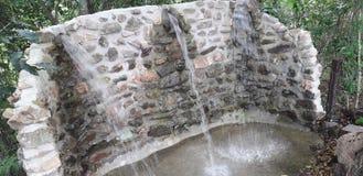 Waterfontein in Itamatamirim Ciry, Pernambuco, Brazilië royalty-vrije stock fotografie