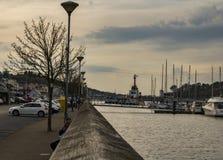 Waterford flodsida Fotografering för Bildbyråer