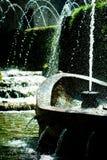 Waterfountain en un parque Imagen de archivo libre de regalías
