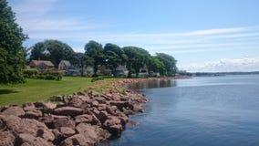 waterfront Image libre de droits