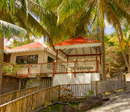 Waterfront accomodations in the caribbean Royalty Free Stock Photo